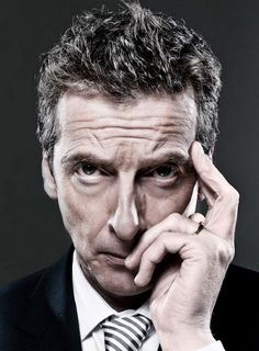 Brown, Cameron and other egotistical self-important politicians, by Peter Capaldi Doctor Who Cast, Twelfth Doctor, 12 Doctor, Spin Doctors, Clara Oswald, Christopher Eccleston, Don't Blink, Peter Capaldi, Dr Who
