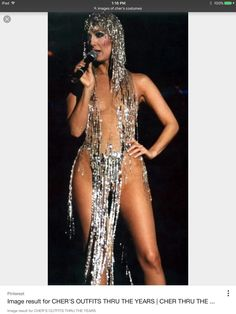 23fa5d7376 cher crystal fringe bikini two piece lady gaga headdress pop star