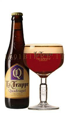 La Trappe Quadrupel - Brouwerij Koningshoeven, Berkel-Enschot, Nederland. Beoordeling GGOB: 5,0