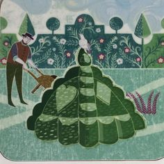 'Topiary Garden' by Sarah Young for Highgrove House