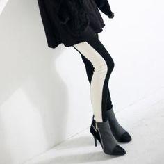 NORANGGOMUSIN  Two-Tone Leggings