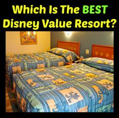 If you are planning on staying on property, you are probably wondering what is the best value resort at Walt Disney World. There are 5 different value resorts to choose from, so which one is going to be the perfect one for your family?