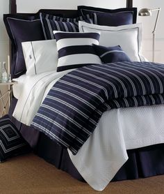Such a handsome bed - perfect for the cottage in Maine or bring back to the city for a sleek look.