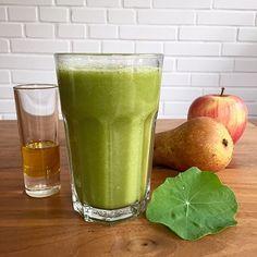 Grüner Kresse-Smoothie