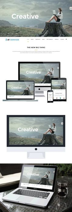AT Services is Responsive Business Joomla template. This is professional template used for Business or Service websites to display the basic subjects of your Bootstrap Template, Joomla Templates, Joomla Themes, Browser Support, Responsive Layout, Template Site, Professional Website, Business Website, Branding