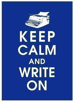 #cosasquemehacenfeliz Escribir