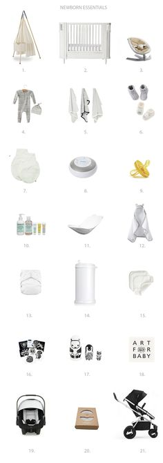 Newborn Essentials // Everything you need for your newborn baby