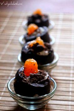 Vidyascooking: Chocolate Golgappas (Chocolate PaniPuri)