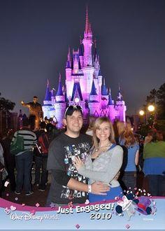 Walt Disney World Proposal story.  Cute!