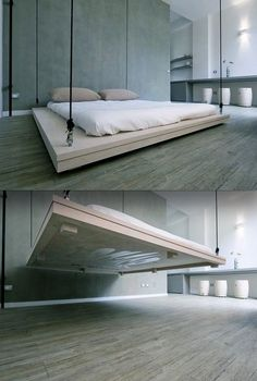 48 Cozy Floating Bed Design Ideas For Sleeping Like In The Sky