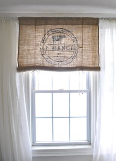 Le Manoir Burlap Curtain Valance Always aspired to learn to knit, but uncertain where do you start? This specific Absolute Beginner Knitting Collection i. Bathroom Window Curtains, Bathroom Windows, Kitchen Curtains, Valance Curtains, Curtain Panels, Drapery, Farmhouse Curtains, Burlap Curtains, French Country Kitchens