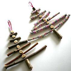 Twig Christmas Trees
