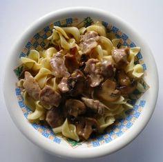 Pork with Mushrooms and Onion Gravy