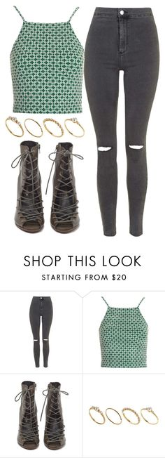 """Green"" by carol-98 ❤ liked on Polyvore featuring Topshop, Rebecca Minkoff and ASOS"