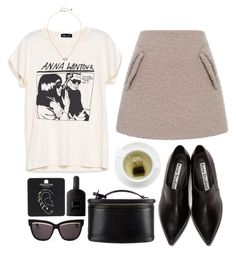 """""""DECEMBER 1, 2016 - 4"""" by mariimontero ❤ liked on Polyvore featuring N°21, Monki, Acne Studios, Topshop, Christian Dior, Tom Ford and Louis Vuitton"""