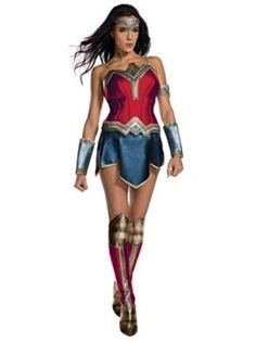 Justice League Womens Secret Wishes Wonder Woman Costume I want to be wonder woman for halloween she is incredible! #DCcomics #wonderwoman #halloween #halloween2017 #superhero
