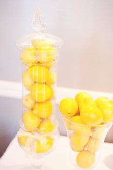 Lemon centerpieces?