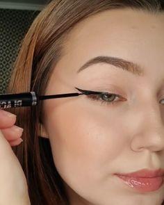 Asian Eye Makeup, Edgy Makeup, Natural Eye Makeup, Makeup Inspo, Makeup Tips, Makeup Geek Eyeshadow, Makeup Tutorial Eyeliner, Lip Makeup, Beauty Makeup