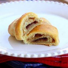 Cinnamon Cresent Rolls. I'm adding boiled raisins....had extra rolls and didn't go with dinner but make a great desert!