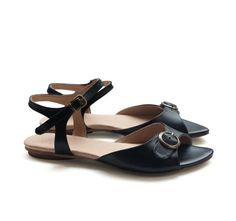 New Black Naomi Sandals Handmade Leather shoes by LieblingShoes