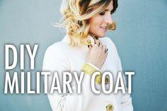 DIY Military Coat