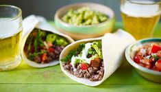 Steak #burrito is a  fast, healthy alternative to other heavy Mexican dishes.