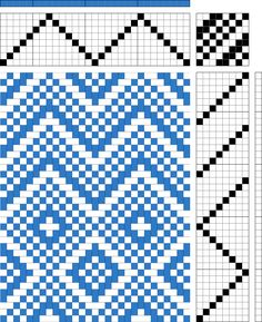 Not 2 Square Weavers: Favorite Weaving Drafts