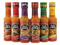 Home Tester Club : All Gold Hot Sauce Range