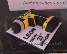 Dewalt drill cake