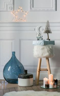 Hygge decor for a cocooning and cozy Christmas Cozy Christmas, All Things Christmas, Christmas Time, Lagom Design, Hygge Home, Interior Design Inspiration, Cosy, Interior Decorating, Sweet Home