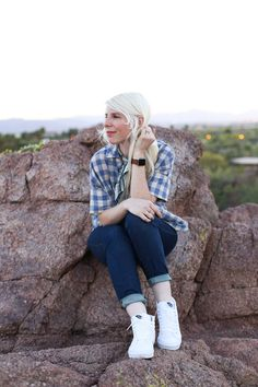 Today we are celebrating the Sk8-Hi! Style blogger, Chelsea Bird knows how to rock a fresh True White pair. Show us your style photos with #MyVans. Vans Sk8 Hi Slim, Vans Girls, Vans Style, Fashion Photo, Chelsea, Your Style, Hipster, Pairs, Stylish