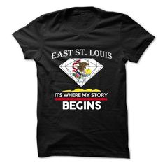 East Saint Louis Illinois It's Where My Story Begins T Shirts, Hoodies. Get it here ==► https://www.sunfrog.com/States/East-Saint-Louis--Illinois--Its-Where-My-Story-Begins-.html?41382 $23.99