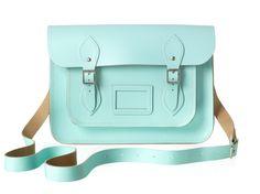 "The cambridge satchel company, Chelsea collection: chelsea 13"" satchel in sweet pea. ~ My new bag!"