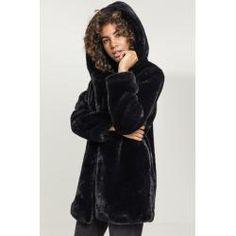 Hooded Urban Ladies Teddy Classics Damen Mantel Coat VUpMqSz
