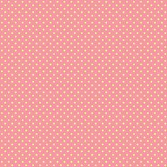 Yellow Polkadot with Pink Background 12 x 12 inch printable I designed