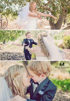 Bride and Son #FirstLook #BrideAndSon