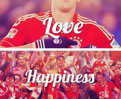 Love. Happiness. FC Bayern Munich