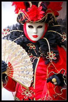 Venice carnival 2011 - Red intense | Flickr - Photo Sharing!