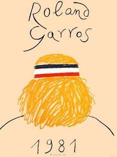 L'affiche 2013 de Roland-Garros, « abstraction poétique » géniale (ou pas) - Le nouvel Observateur