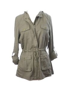 Green Army Jacket #g