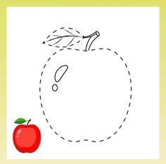 Kindergarten Math Worksheets, Tracing Worksheets, Numbers Preschool, Autumn Activities, English Vocabulary, Fine Motor, Art For Kids, Coloring Books, Symbols