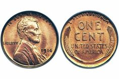 1914-D Lincoln Cent - Image Courtesy of: Heritage Auction Galleries, Ha.com
