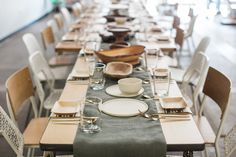 Modern Bohemian Brunch | Elephant Table Creative Luncheon | via Birch & Brass Vintage Rentals for Weddings and Special Events in Austin, TX