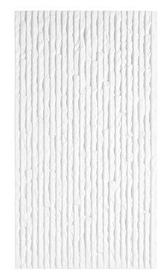 Stratum White wall tile, (Topps Tile) in shower and sink splash back