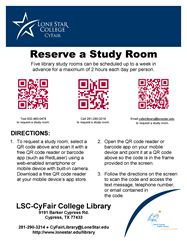 Trifold presentation poster board template this is a collection of qr code study room request fandeluxe Image collections