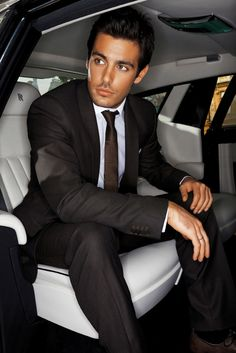 Kostas Martakis [OMG! He is so gorgeous. great suit as well. It goes perfectly with his olive skin tone. Marry me please. ~sdh/HHBakes.com]