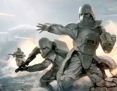 Star Wars Art - by Kai Lim   Originally for Star Wars Trading Card game.