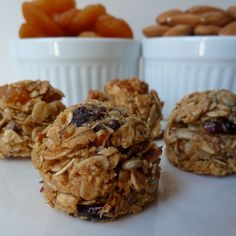 CHEWY GRANOLA HARVEST - 18 Little Bites $24 - Rolled oats, raw sunflower seeds, fresh coconut, flax seeds, wheat germ, crushed almonds, dried apricots & cranberries mixed together with the perfect amount of honey & molasses. Healthy, pure...simply irresistible.