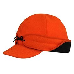 8ef02c08a58 Stormy Kromer Mens Rancher Blaze Orange Cap - 6 7 8 at Amazon Men s  Clothing store  Baseball Caps