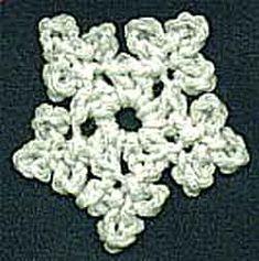 Five Point Star Crochet Ornament